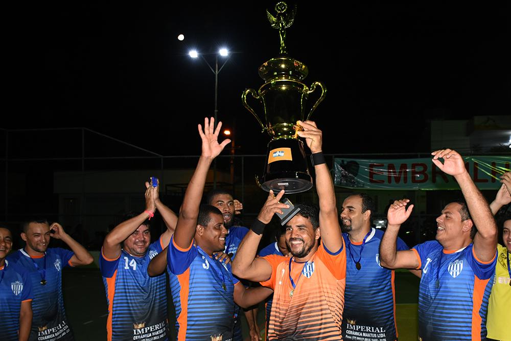 Cerâmica Imperial conquista o título do Campeonato Municipal de Futsal de Ibiassucê