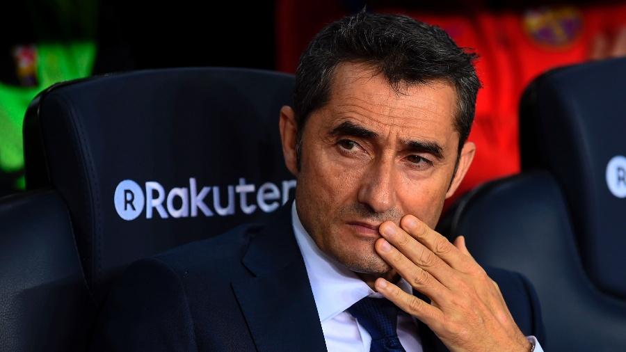 Ernesto Valverde minimiza novo tropeço do Barcelona: