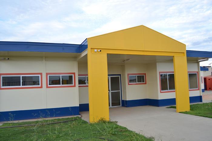Inicialmente a Creche Pré Escola estava prevista para ser inaugurada em agosto do ano passado. Foto: Aloísio Costa @aloisiocostabombom