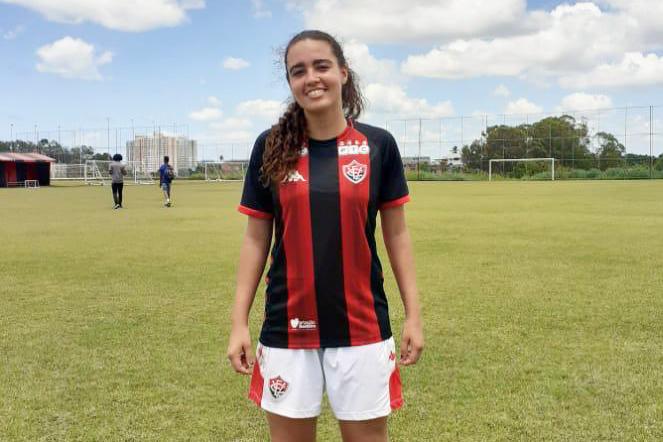Caculé: Leslen Guimarães é convocada pelo Vitória para disputar o Brasileirão Feminino Série A