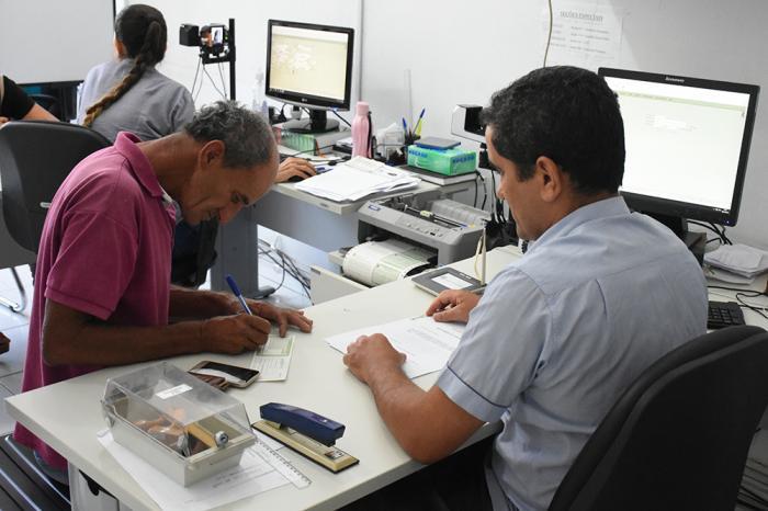 Eleitores têm até esta terça-feira (18) para fazerem o recadastramento biométrico. Foto: Aloísio Costa.