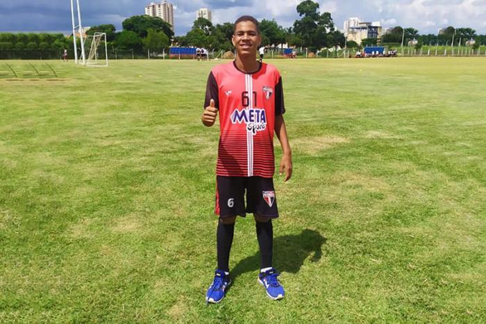 Atleta caculeense passa por avaliação no Esporte Clube Primavera de São Paulo