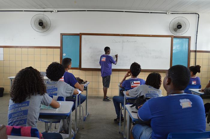 Pela atividade, o estudante monitor receberá uma bolsa de R$ 200 por mês. Foto: Josenildo Almeida.