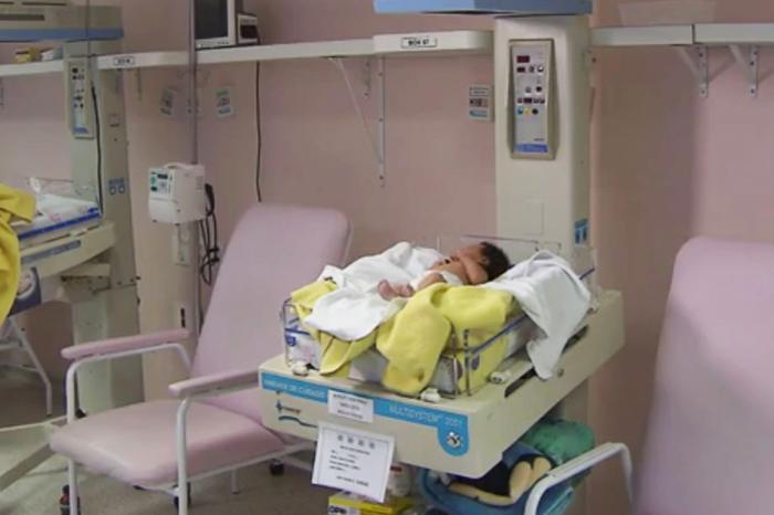 O bebê recebeu antedimento ainda no local e depois foi levado para a Maternidade Santa Helena. Foto ilustrativa.
