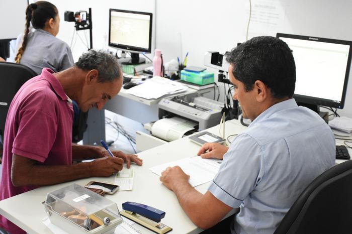 Inicialmente os serviços serão suspensos pro 15 dias. Foto: Aloísio Costa (Arquivo).