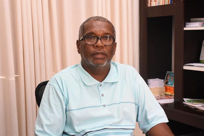 Padre Reinaldo Reis, Pároco de Caculé. Foto: Aloísio Costa.