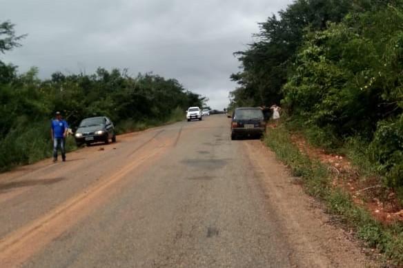 Acidente ocorreu na manhã desta segunda-feira (20) na BA-026, no trecho que liga a cidade de Licínio de Almeida ao Distrito de Tauape.