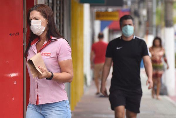 Decreto obrigando o uso de máscaras para as pessoas que tiverem que sair às ruas deverá ser publicado nos próximos dias.