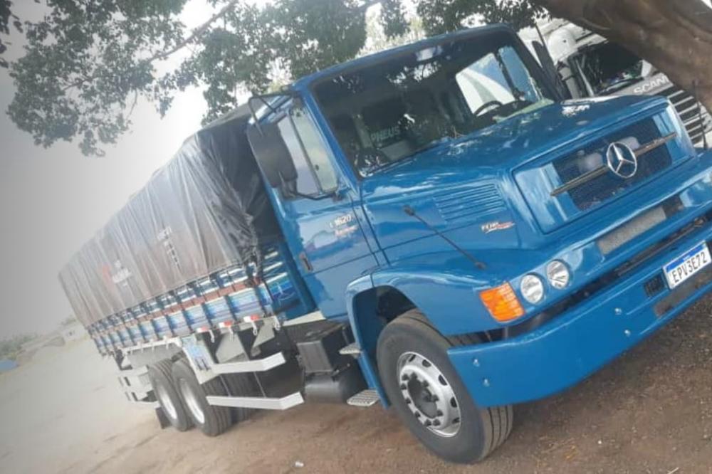Bandidos furtam caminhão no Distrito de Ibitira; crime aconteceu na madrugada desta segunda (11)