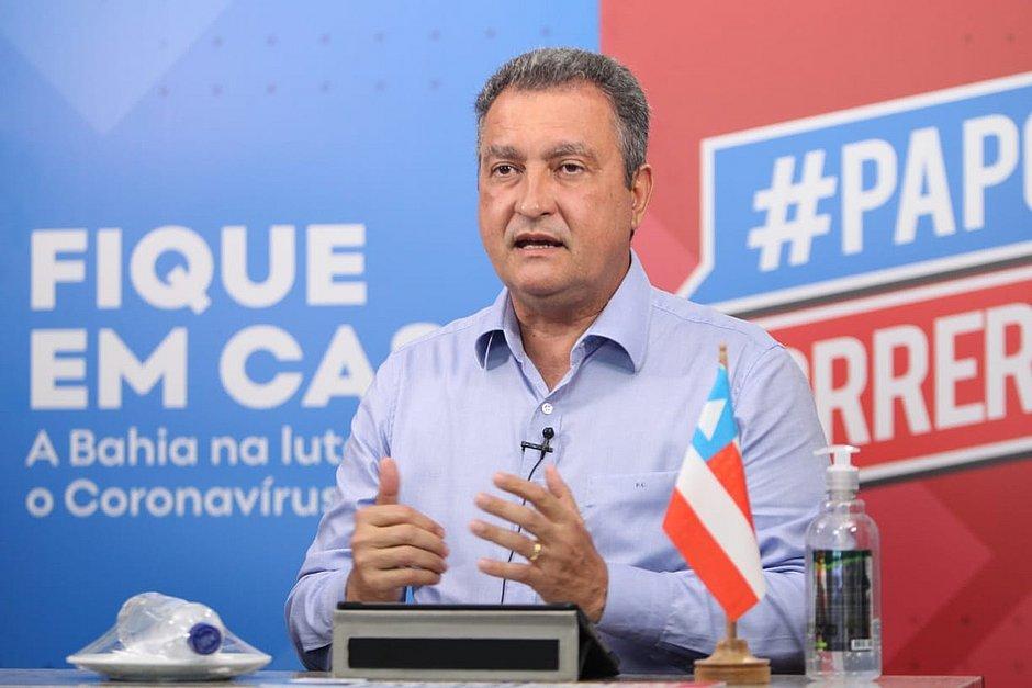Governador da Bahia descarta cancelamento do ano letivo e avalia o retorno das aulas pra junho