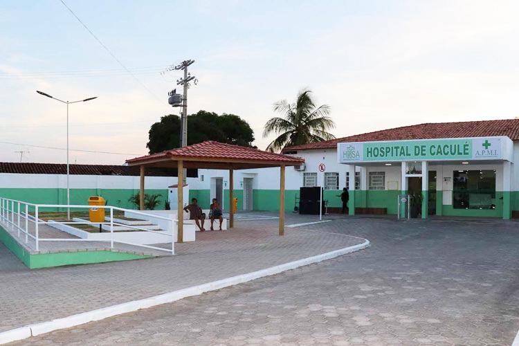 Paciente de 44 anos estava internado no HNSA com suspeita da COVID-19. Foto: Lay Amorim