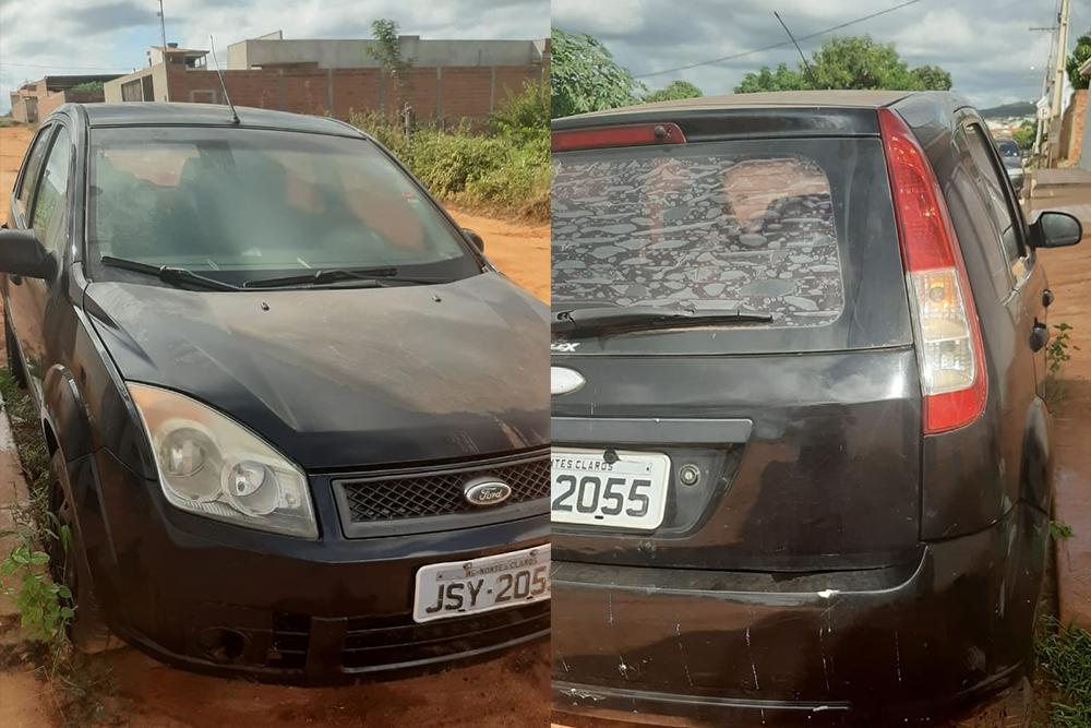 Caculé: Bandidos armados rendem motorista e roubam veículo; crime aconteceu na madrugada desta segunda-feira (25)