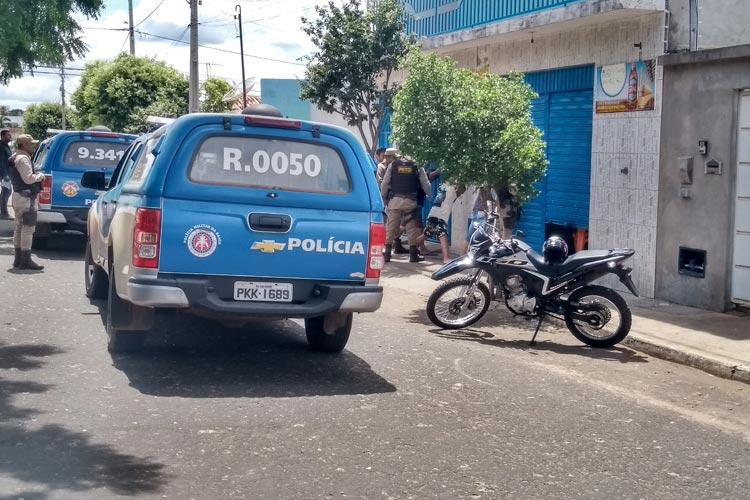 Coronavírus: PM reforça linha de frente com a vigilância sanitária na força-tarefa de fiscalização em Brumado