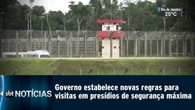 Novas regras para visitas em presídios de segurança máxima